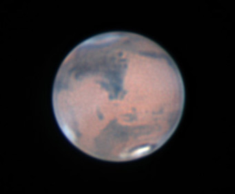Mars on March 5-6, 2012