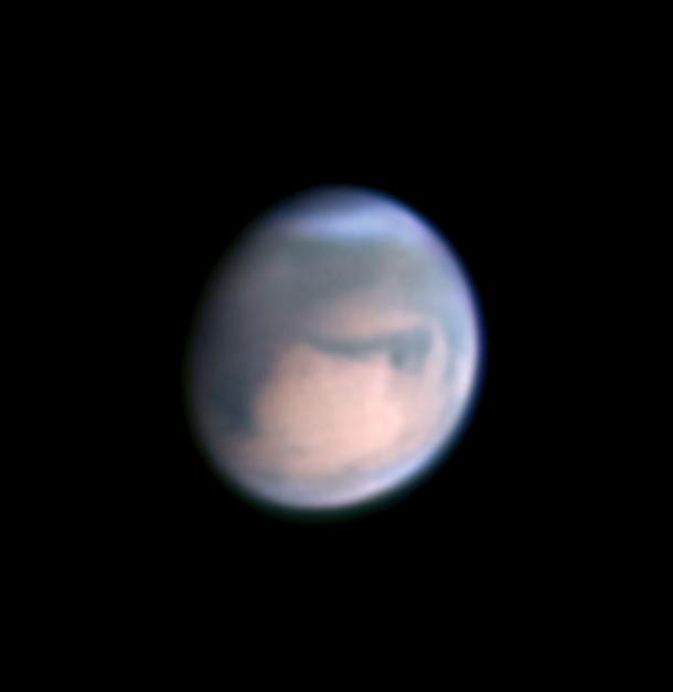 Mars on April 28, 2018