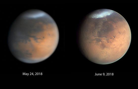 Dusty drama at Mars