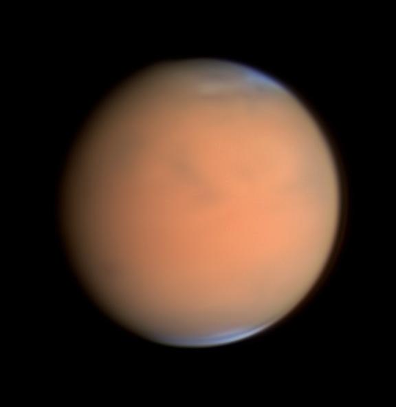 Mars under dust storm, July 1, 2018