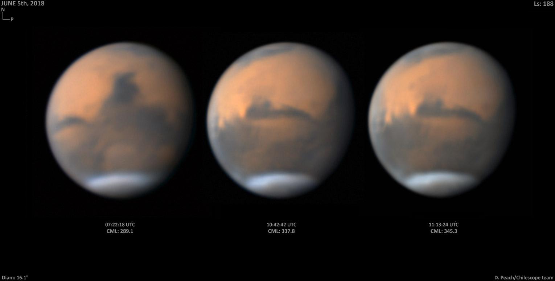 Mars on June 5, 2018