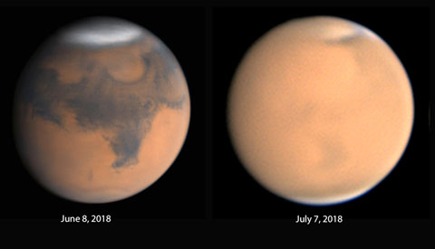 Observers Anxious for Dust to Settle as Mars Opposition Approaches