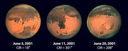 Three Faces of Mars