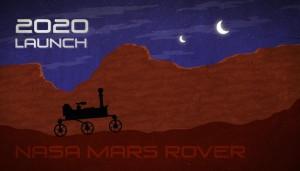 Artist's concept of Mars rover.  NASA/JPL-Caltech