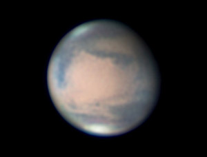 Mars on March 13, 2010