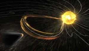 solar storm hits Mars