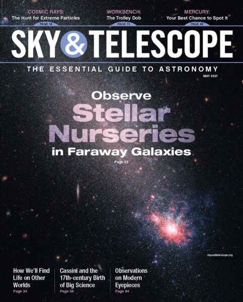 The cover of the May 2021 issue
