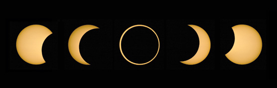 Partial / annular eclipse