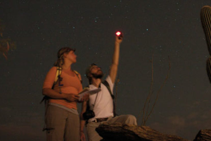 Measuring skyglow in Arizona