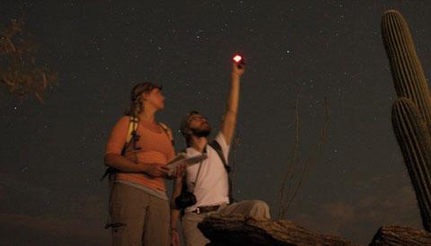 Measuring skyglow in Arizona