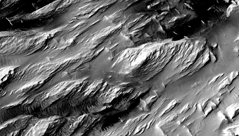 Medusae Fossae Formation HiRISE 480p