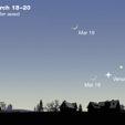 Mercury & Venus in March 2018 480p