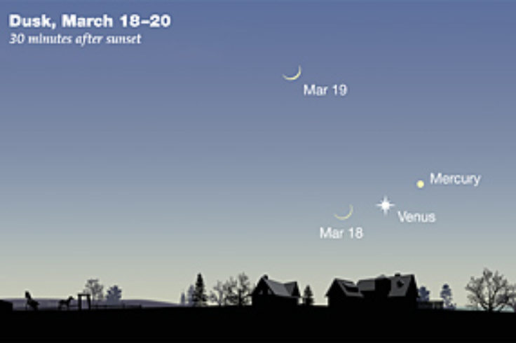 Mercury & Venus in March 2018 480p