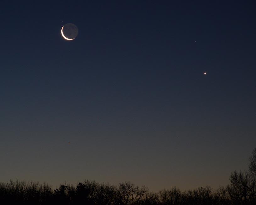 Mercury, Venus, and Moon on Feb. 6th 2016 JKB_m