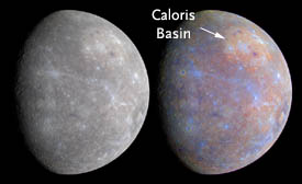 Mercury in false color