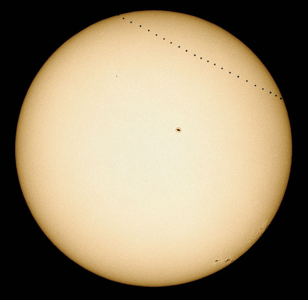 Transit of Mercury composite