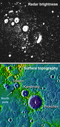A match: Mercury's topography and radar maps