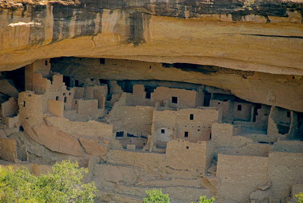 Ancient dwellings in Mesa Verde