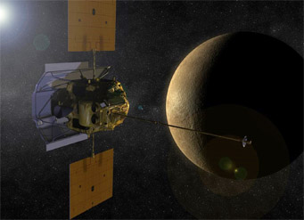 Messenger reaches Mercury