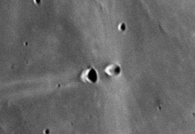 Close-up of Messier and Messier A