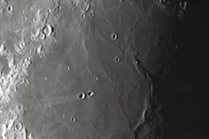The craters Messier and Messier A
