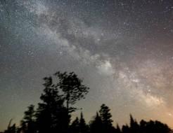 Milky Way night light