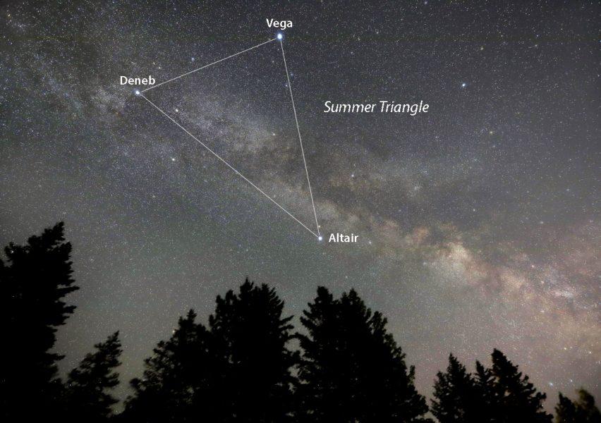 Vega and Summer Triangle