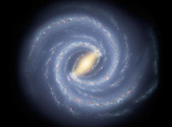 Milky Way Galaxy, NASA / JPL-Caltech