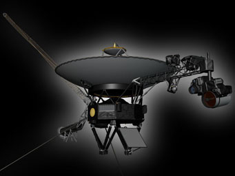 An artist's impression of Voyager 2.