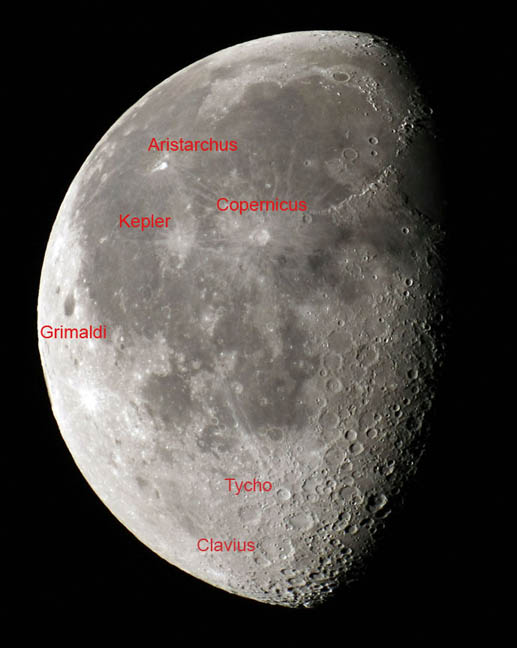 How To See Lunar Craters With The Naked Eye