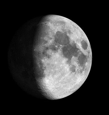 Moon on September 26, 2020