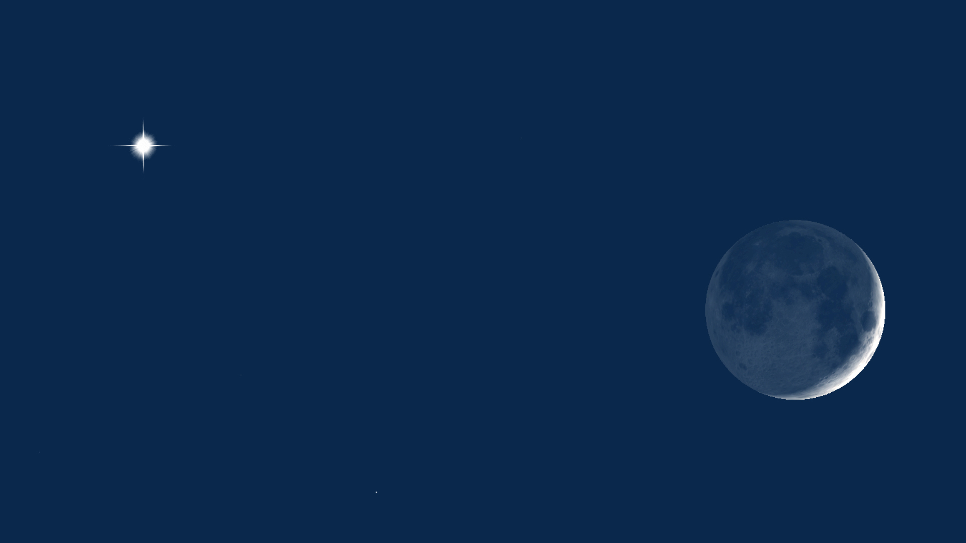 Moon-Venus 10pm EDT