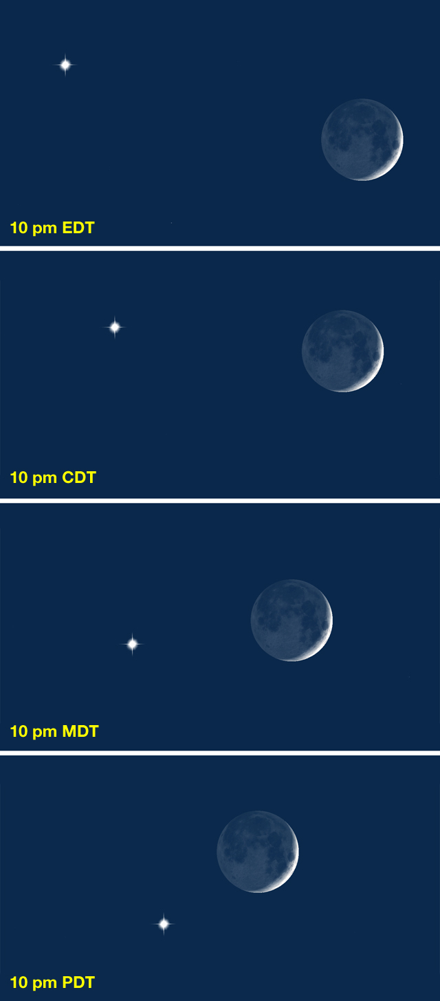 Moon & Venus on July 15