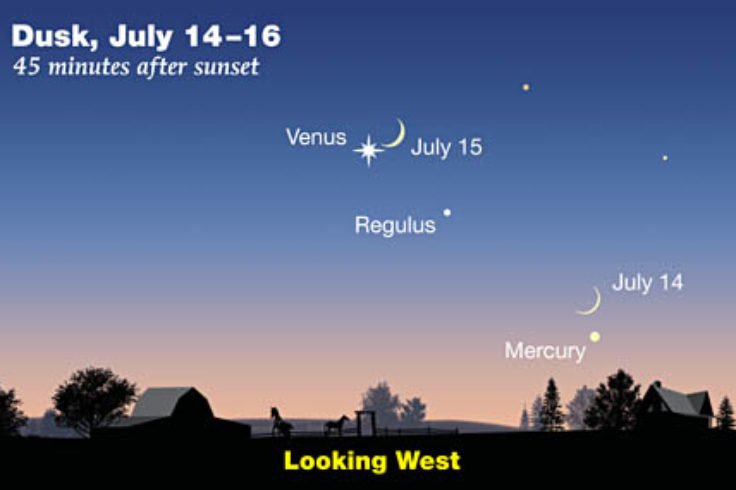 Moon-Venus-Mercury July 14-15 300px