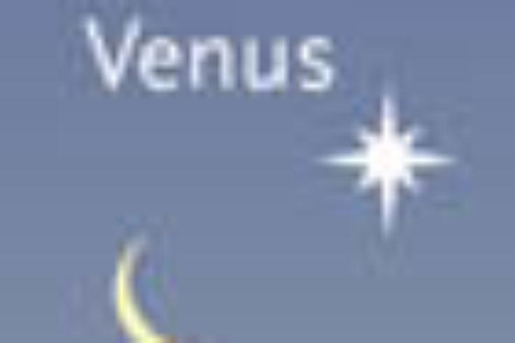 Moon and Venus on February 26th