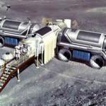 Moon base model