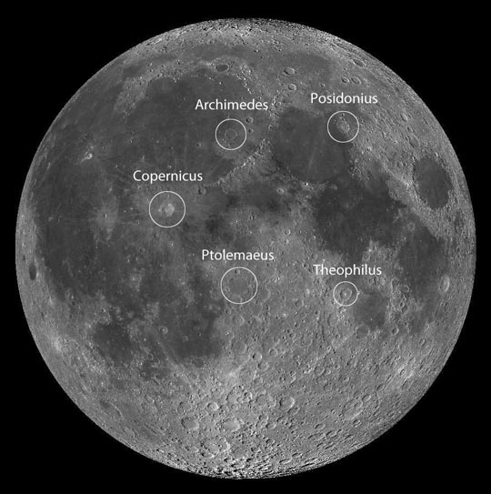 lunar landing sites visible from earth - photo #28