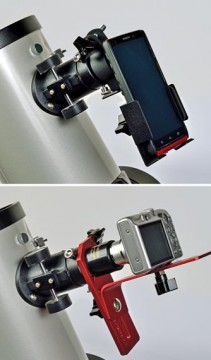 Moon imaging camera holders