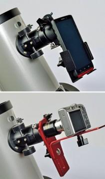 Moon imaging camera holders