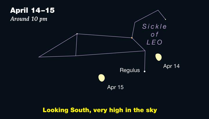 Moon in Leo April 2019