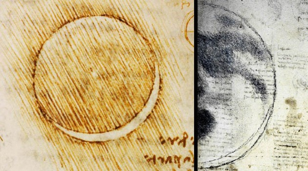 Early Naked-eye Moon Sketches
