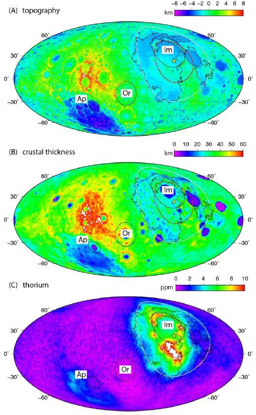 The Moon's topography