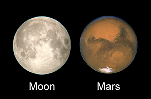 the mars moons color - photo #27