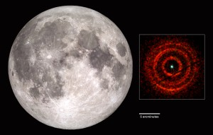 Left: NASA's Scientific Visualization Studio (left), Right: Andrew Beardmore / NASA / Swift