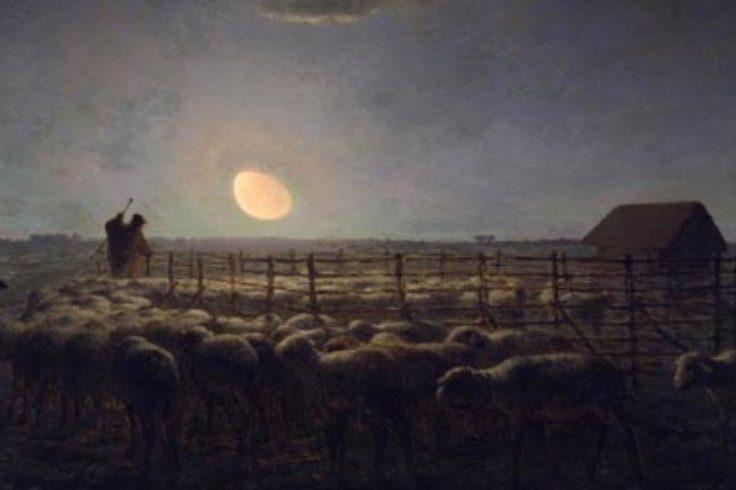 J-F Millet, Sheepfold