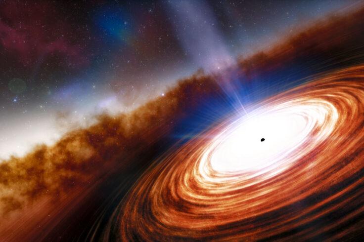 Most distant quasar
