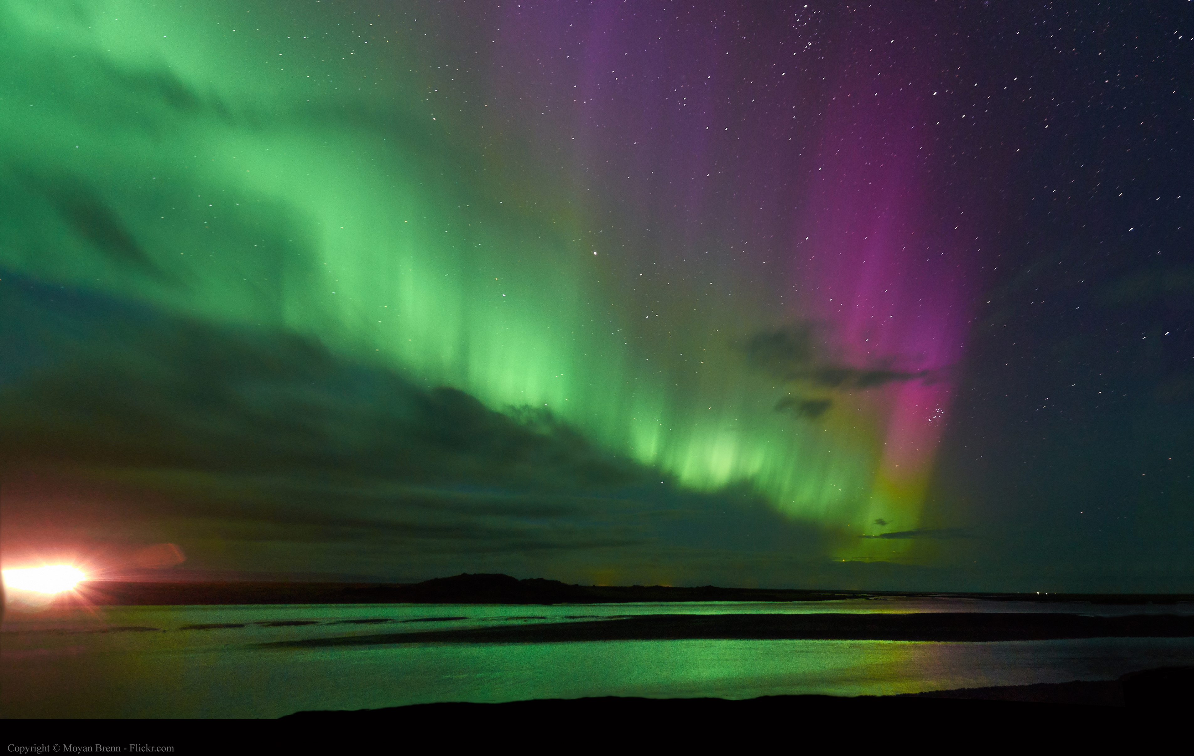 Northern Lights, South Iceland