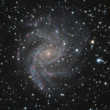 NGC 6946, spiral galaxy in Cepheus
