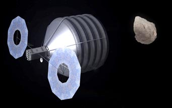NASA's asteroid-retrieval concept