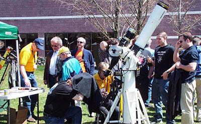 Solar observing at NEAF